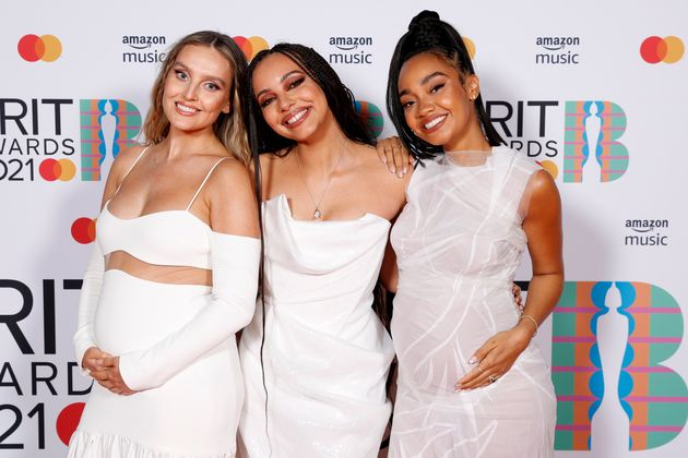 Perrie Edwards (left) and Leigh-Anne Pinnock (right) both announced their pregnancies this
