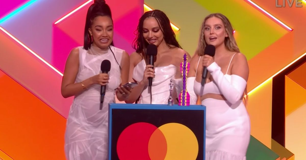 Little Mix Mark History-Making Brit Awards Win With Powerful Speech On Music Industry Sexism