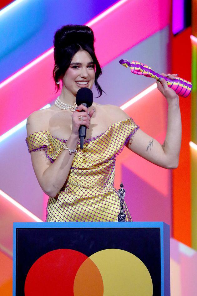 Dua Lipa Leads Brit Awards 2021 Winners –Heres The Full List