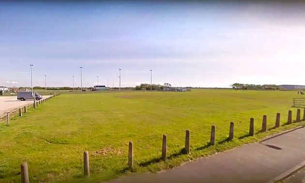 Officers were called shortly after 5pm on Tuesday to fields near to School Road,