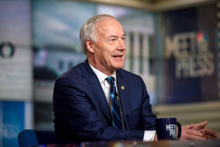 """Arkansas Gov. Asa Hutchinson says the added unemployment benefits had helped people in Arkansas and had """"served a good purpos"""