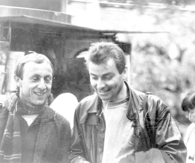 Luigi Bergamin (a sinistra) insieme a Cesare