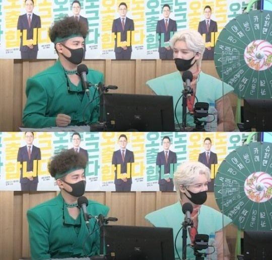 SBS 파워FM '두시탈출 컬투쇼' 보이는 라디오