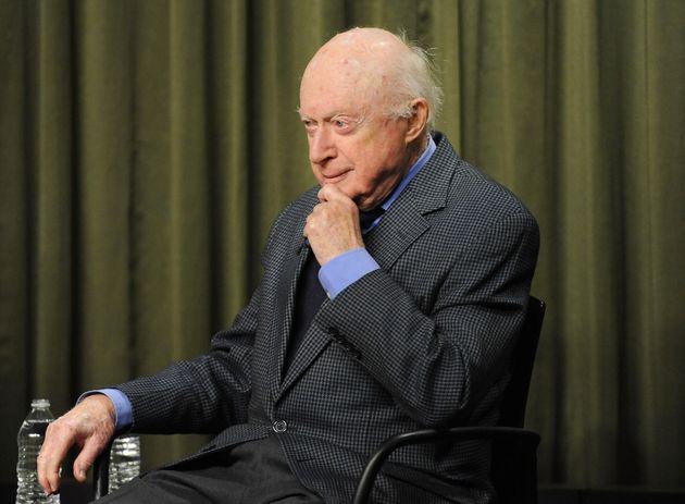 Norman Lloyd in 2015, aged