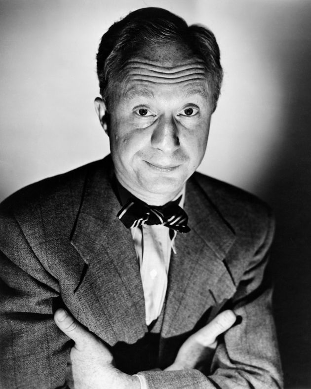 Norman Lloyd in a promo shot for the 1951 film