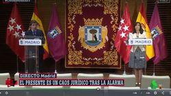 La delegada del Gobierno da un sonado corte a Almeida en directo: