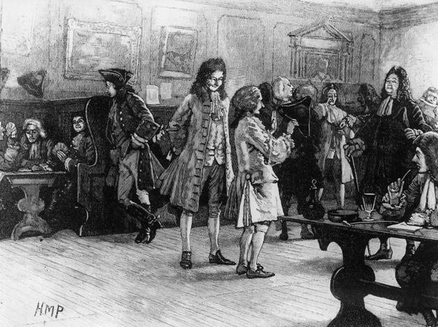 1710年頃、アン女王の治世中のロンドンのコーヒーハウスの常連客。