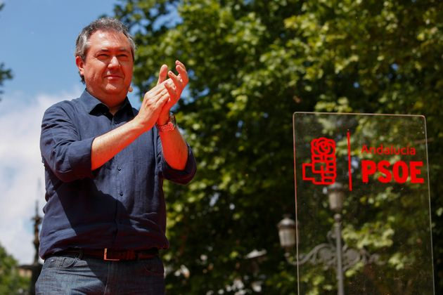 El alcalde de Sevilla, Juan Espadas, presenta su candidatura a la secretaria general del PSOE-A en
