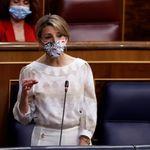 El momento de Yolanda Díaz en el Congreso que no para de compartirse: 9.000 me gusta y