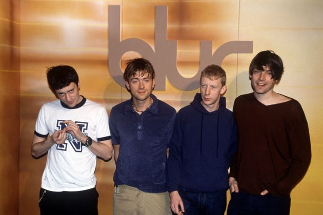 The band Blur, not to be confused with