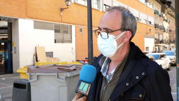 José Luis cree que el objetivo de los 'indignados' era