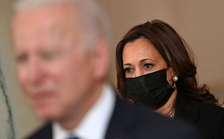 Some conservatives have tried to imply that Vice President Kamala Harris is the one truly in charge at the White House.