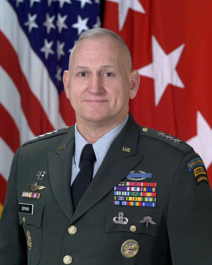 Retired U.S. Army Lt. General William G. Boykin also signed the letter.