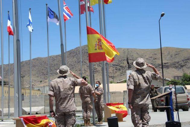 Despedida de la misión española en