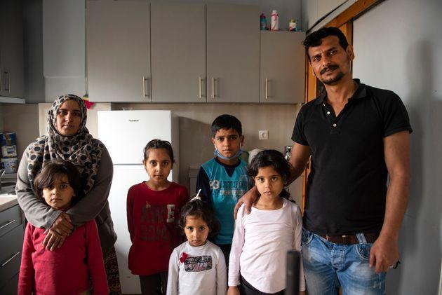 Οικογένεια από την Συρία επανασυνδέεται στην Ελλάδα