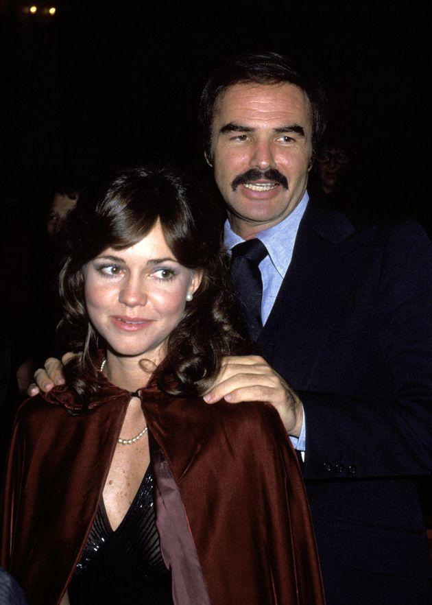 Sally Field and Burt