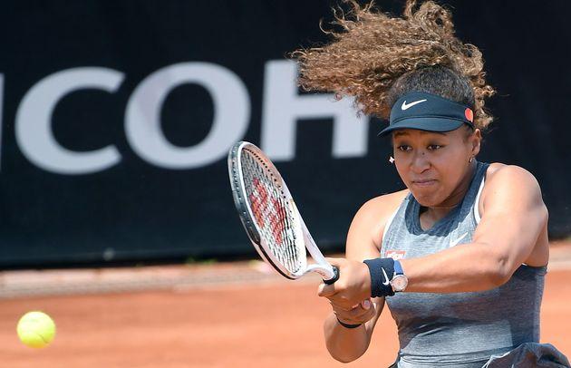 イタリア国際テニス・女子シングルス2回戦に臨んだ大坂なおみ選手