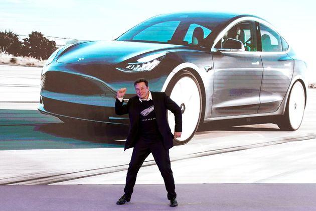 Elon Musk a interdit les achats de Tesla en bitcoin, pour des raisons environnementales (photo prise...