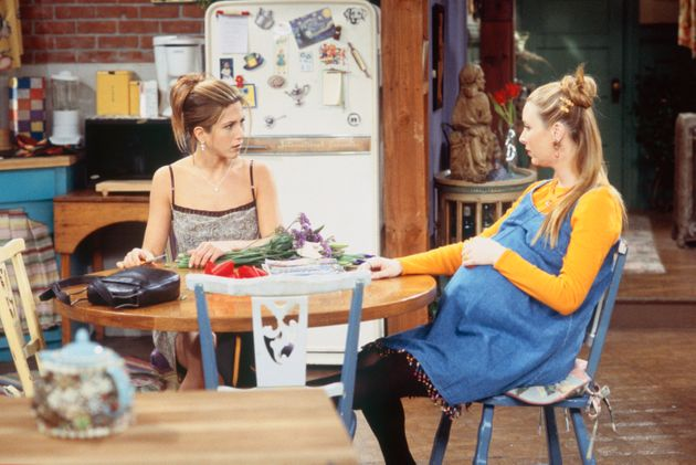 Lisa was pregnant with her son during Friends' fourth