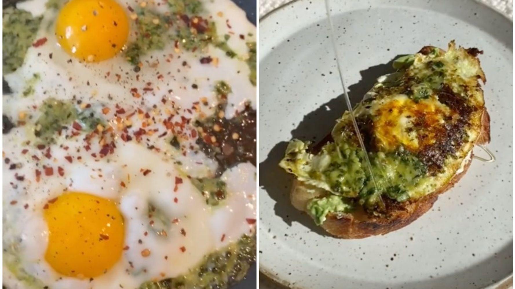 Love Pesto Eggs? 4 Ways To Make The TikTok Recipe Even Better