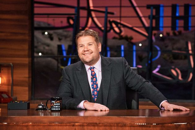 James Corden on The Late Late