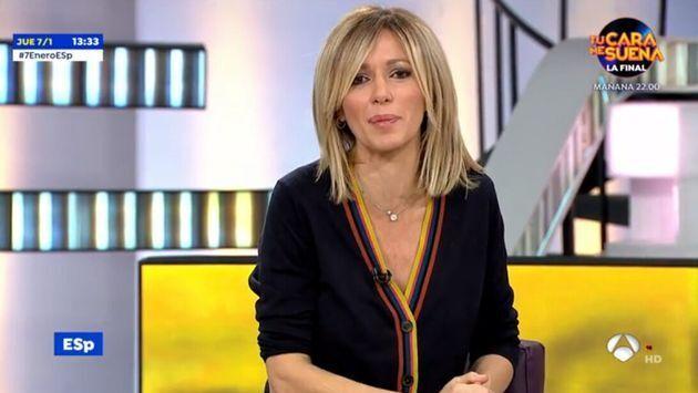 Imagen del pasado mes de enero de Susanna Griso en Antena