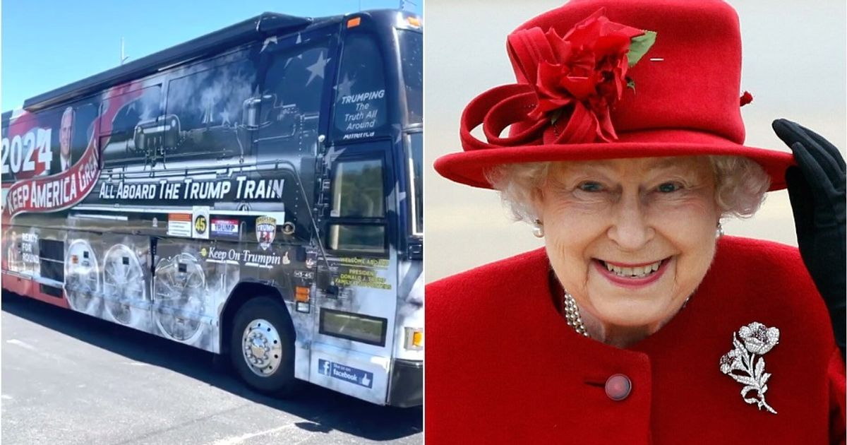 The Queen Is On The 'Trump Train' And Buckingham Palace Is Not Happy