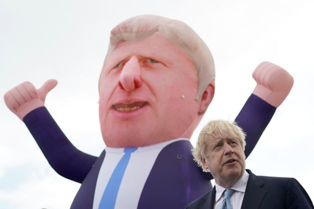 Johnson visits Hartlepool, where the Tories toppled Labour in a by-election last week and a target area...