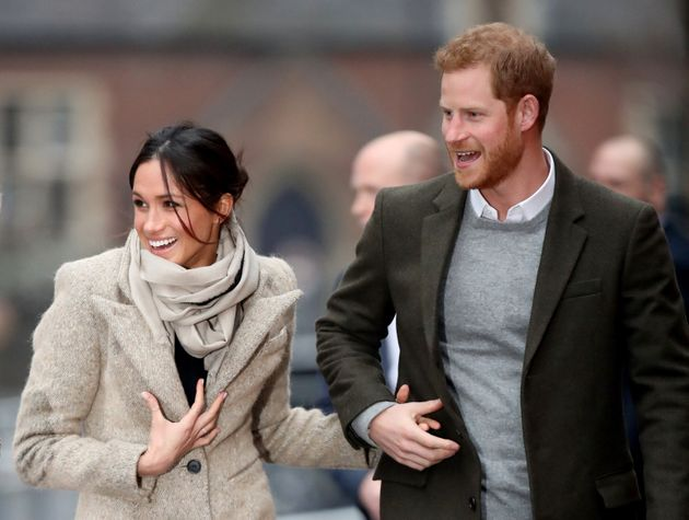 Harry and Meghan in January 2018.
