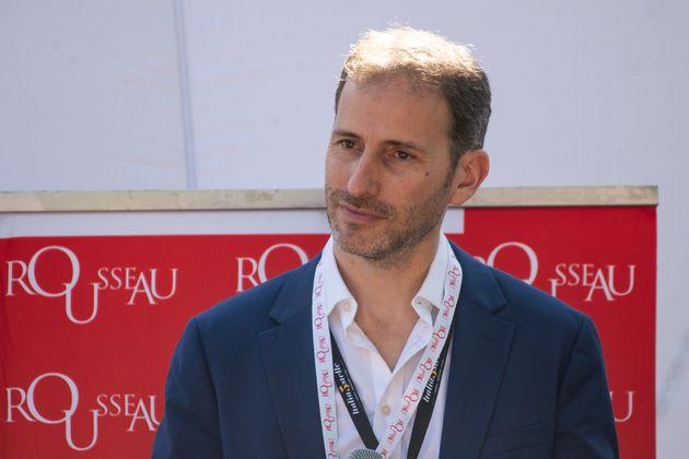 NAPLES, ITALY - OCTOBER 12: Davide Casaleggio founding member of the 5 Star Movement on October 12, 2019...