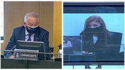 Eugenio Pino y Rosalía Iglesias callan en la comisión de investigación de la