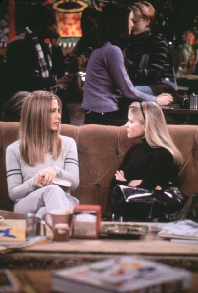 Jennifer Aniston and Reese Witherspoon previously shared the screen in