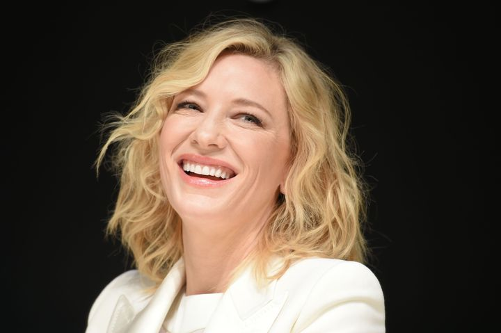 Cate Blanchett gave birth to her first son in 2001.