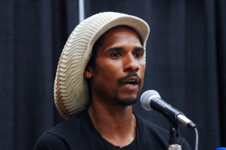 Mike Africa talks at Netroots Nation 2019 in Philadelphia on July 11, 2019, about what it was like when his parents finally c