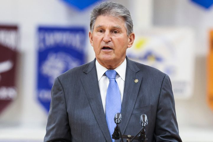 West Virginia Sen. Joe Manchin is among the Democrats who have suggested the party slim down their signature democracy reform