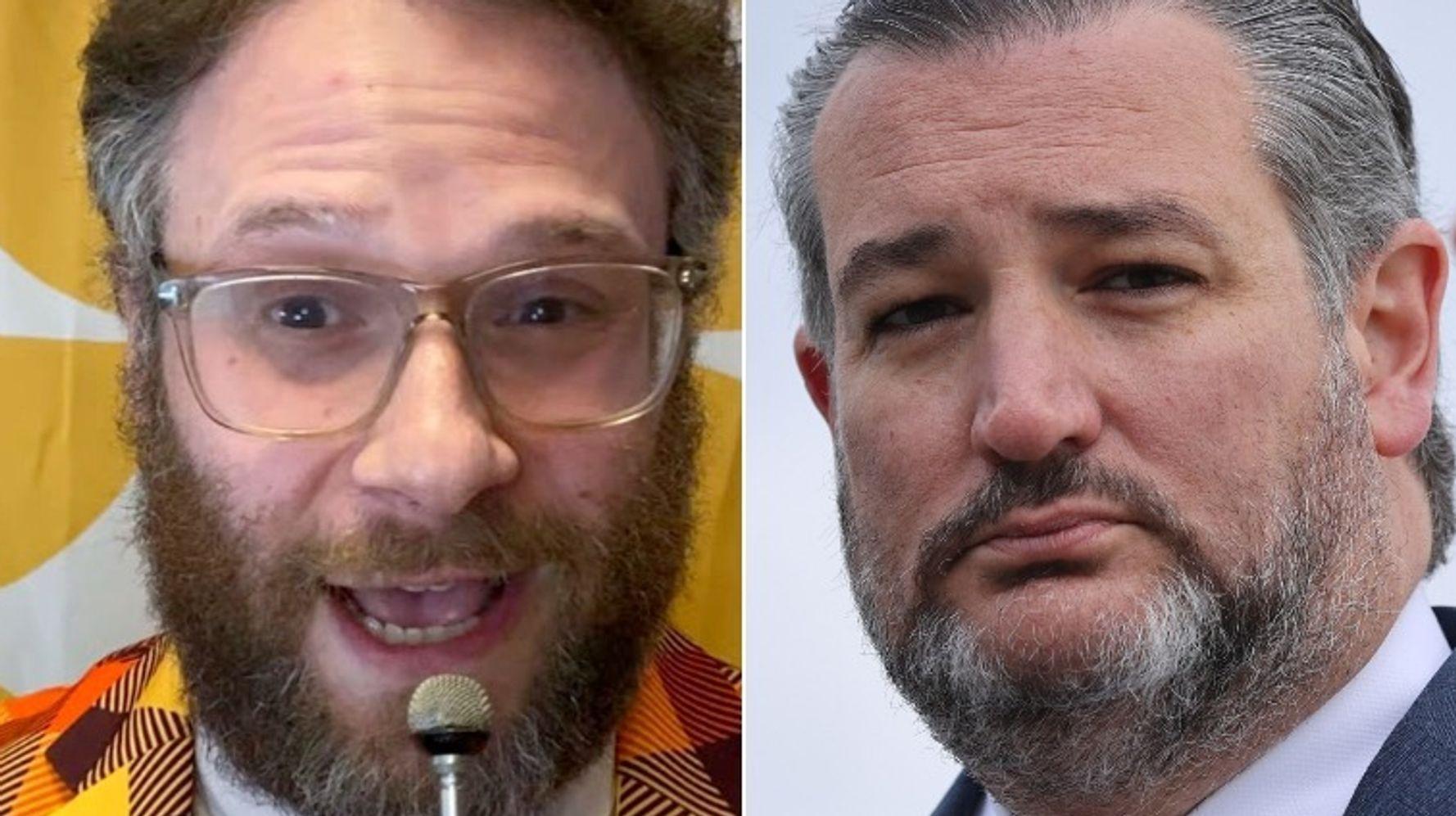 Seth Rogen Torches Ted Cruz: A Fascist Whose 'Words Caused People To Die'