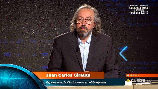 Juan Carlos Girauta, en el programa de Iker