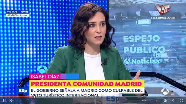 Díaz Ayuso, en 'Espejo