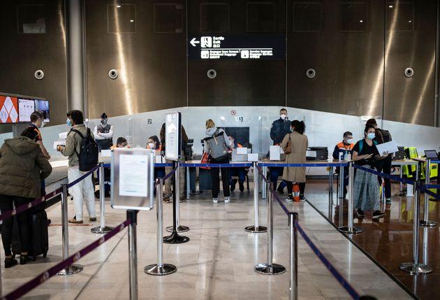 (Photo d'illustration: aéroport de Roissy le 25 avril 2021. Photo par IAN