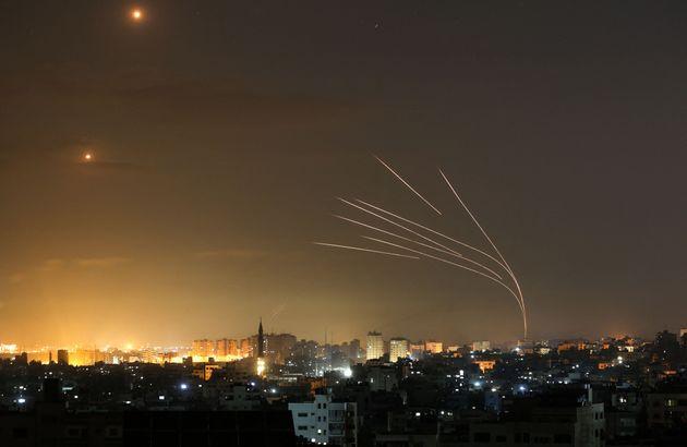 Misiles lanzados desde Beit Lahia al norte de