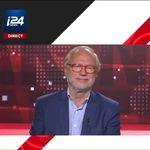 Laurent Joffrin quitte le plateau de i24News après une pluie
