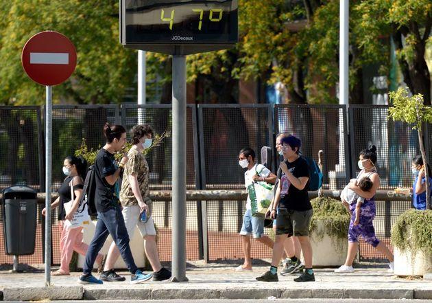 Sevilla, a 47 grados el pasado