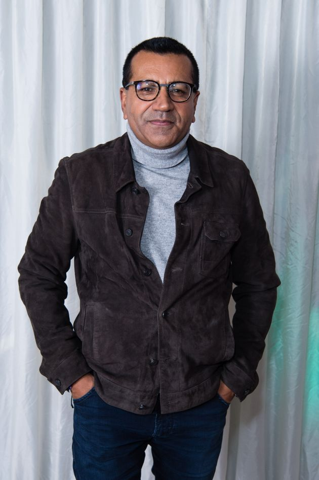 Martin Bashir in 2019, photographed during his stint on X Factor
