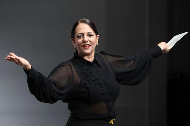 La actriz Yolanda Ramos en