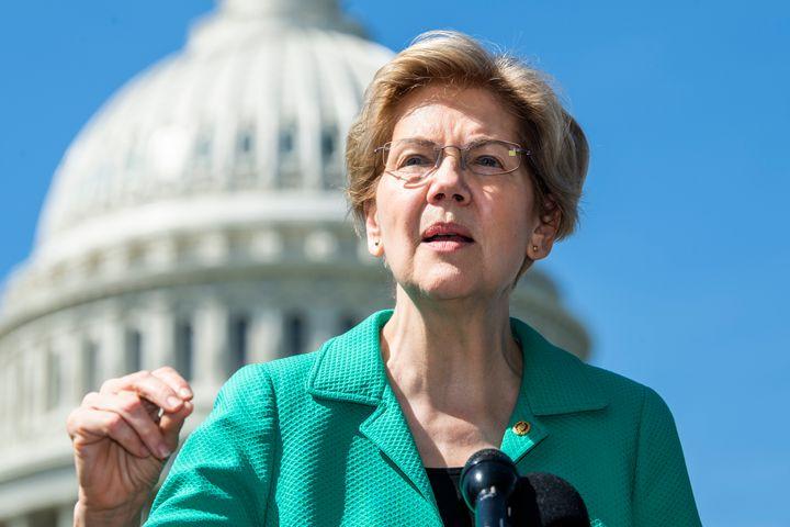 Massachusetts Sen. Elizabeth Warren is one Democratic lawmaker who has undergone an about-face in her positions on Israel.