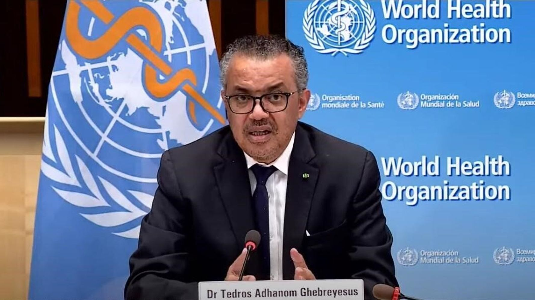 WHO Chief: Rich Nations Vaccinating Kids Is 'Moral Catastrophe' Amid Global Shot Shortage