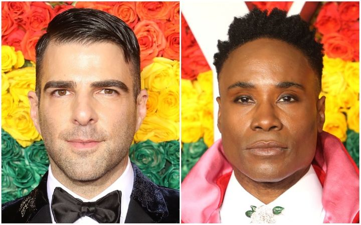 """Actors Zachary Quinto (left) and Billy Porter will provide voices for """"The Proud Family: Louder and Prouder."""""""