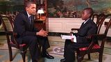 Damon Weaver, 11, quizzes President Obama in 2009.