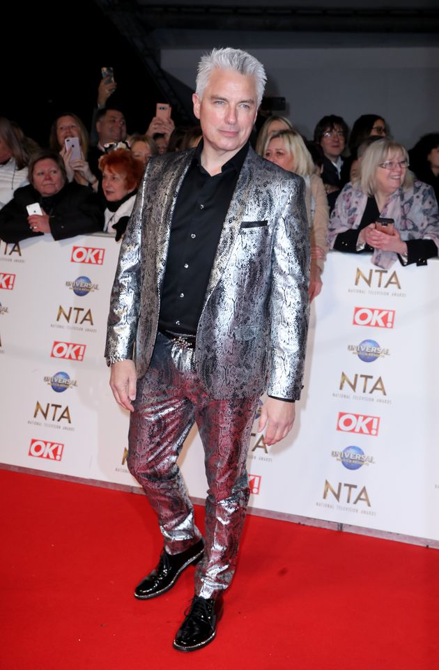 John Barrowman at the 2020 National Television