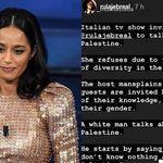 Rula Jebrael condivide post nelle stories per commentare la puntata di Propoganda